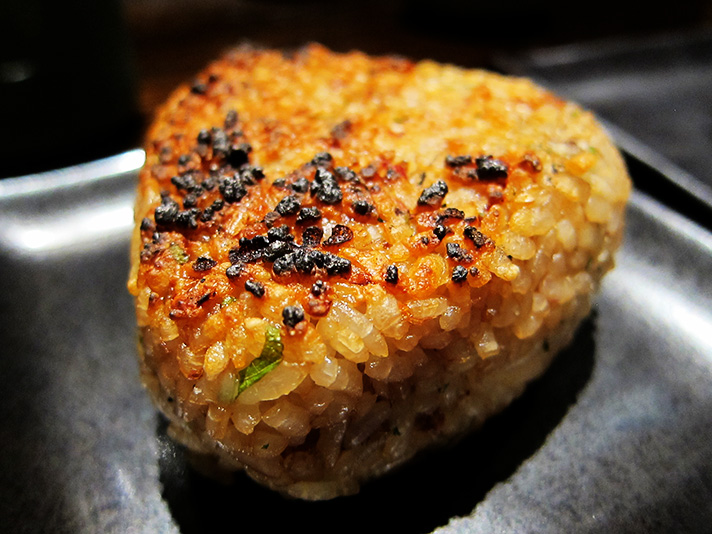 one is true crowd yaki onigiri $ 5 per piece yaki onigiri recipe ...